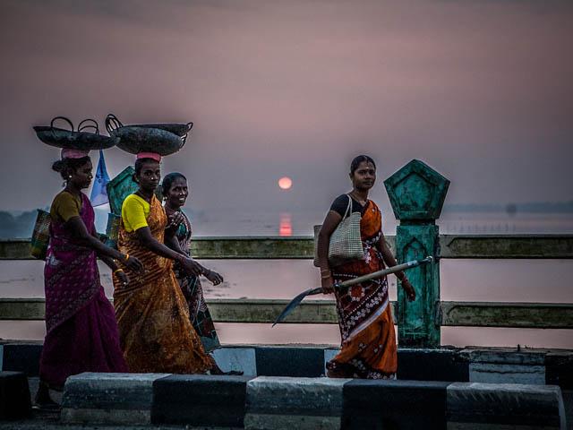 Abreise aus Indien