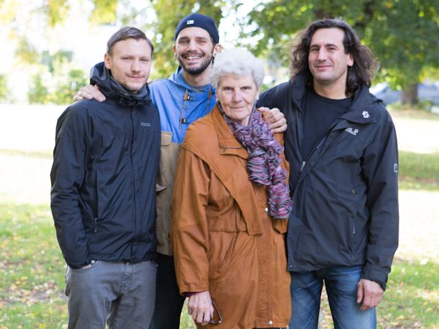 Familie in Rummelsburg
